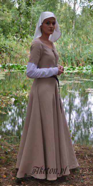 suknia lniana 2