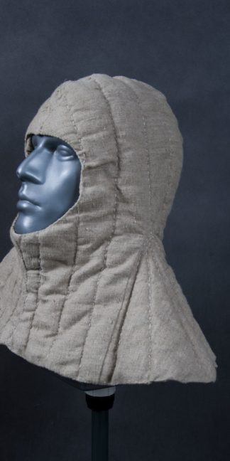 quilted hood hand sewing