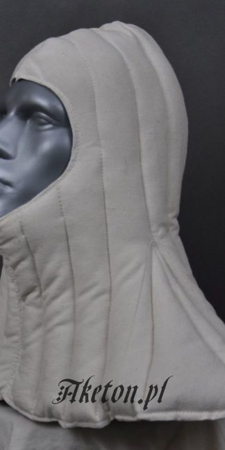 quilted hood white